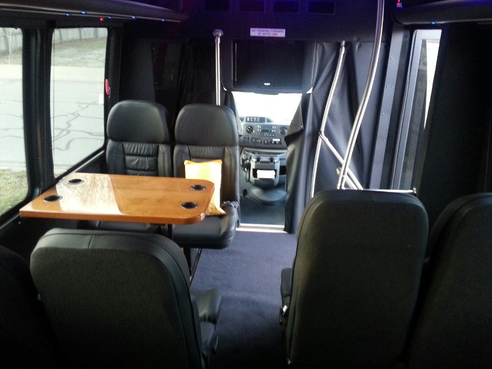 Kansas City Party Bus Interior
