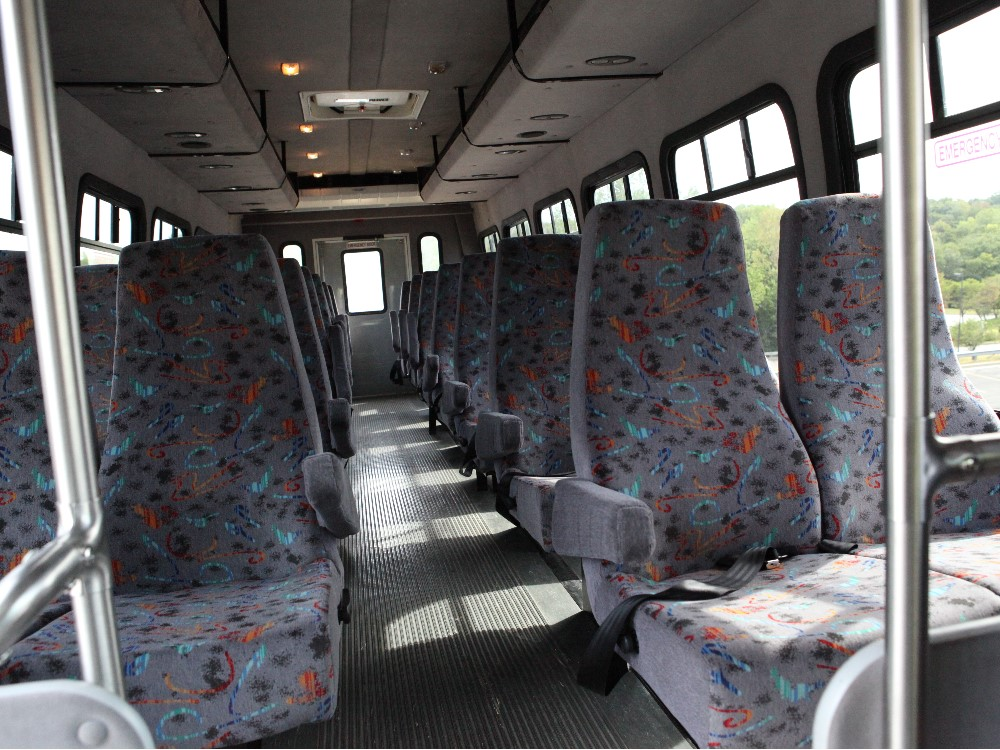 Kansas City Mini Coach Shuttle Bus Interior